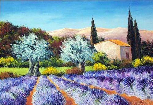 Theme Photo De Classe Originale Paysages De Provence. | Bb04200