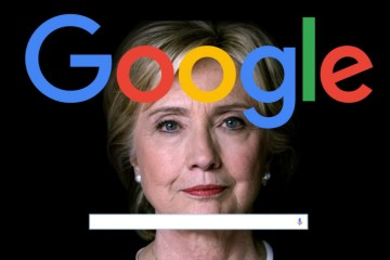 Columnist Calls On Google To Hide Hillary Health Info