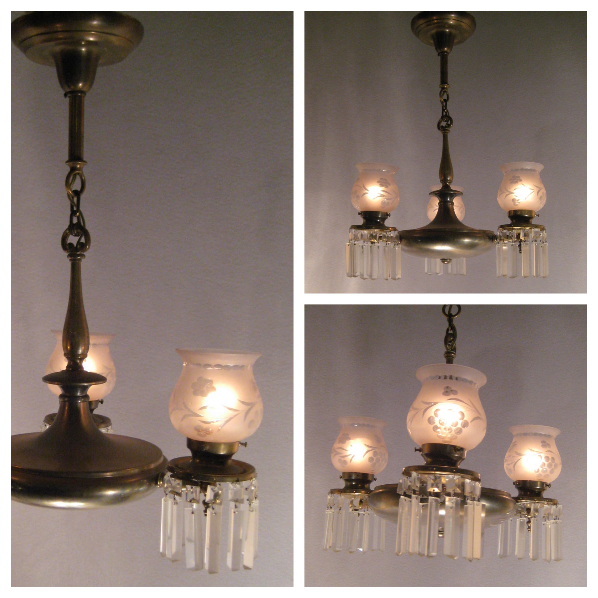 Lighting Stores In Montreal A6236 Colonial Style Brass Chanderlier Bogart Bremmer