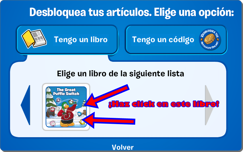 Codigos De Libros De Club Penguin Códigos Del Libro The Great Puffle Switch | Trucos De Club