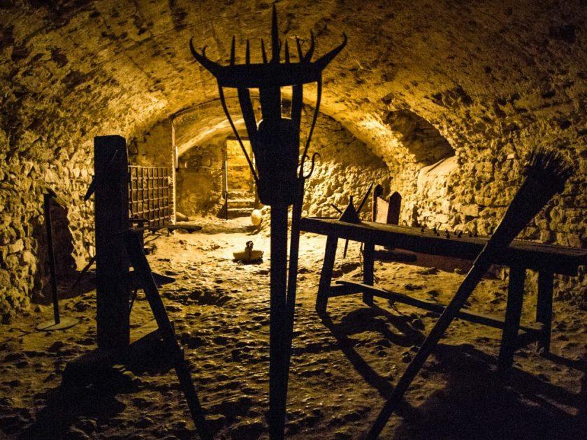 San Leo - Castello - Sala torture