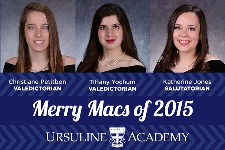 Read the 2015 Valedictorian and Salutatorian Speeches Ursuline Academy - salutatorian speech examples
