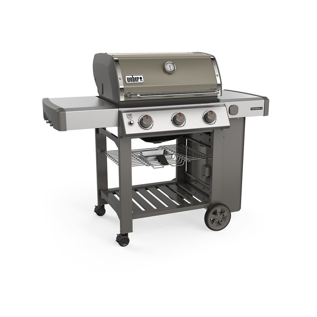 Weber Elektrische Barbecue Weber Genesis Ii E 310 Gbs Smoke Grey 61051179 Bbq Entertainer
