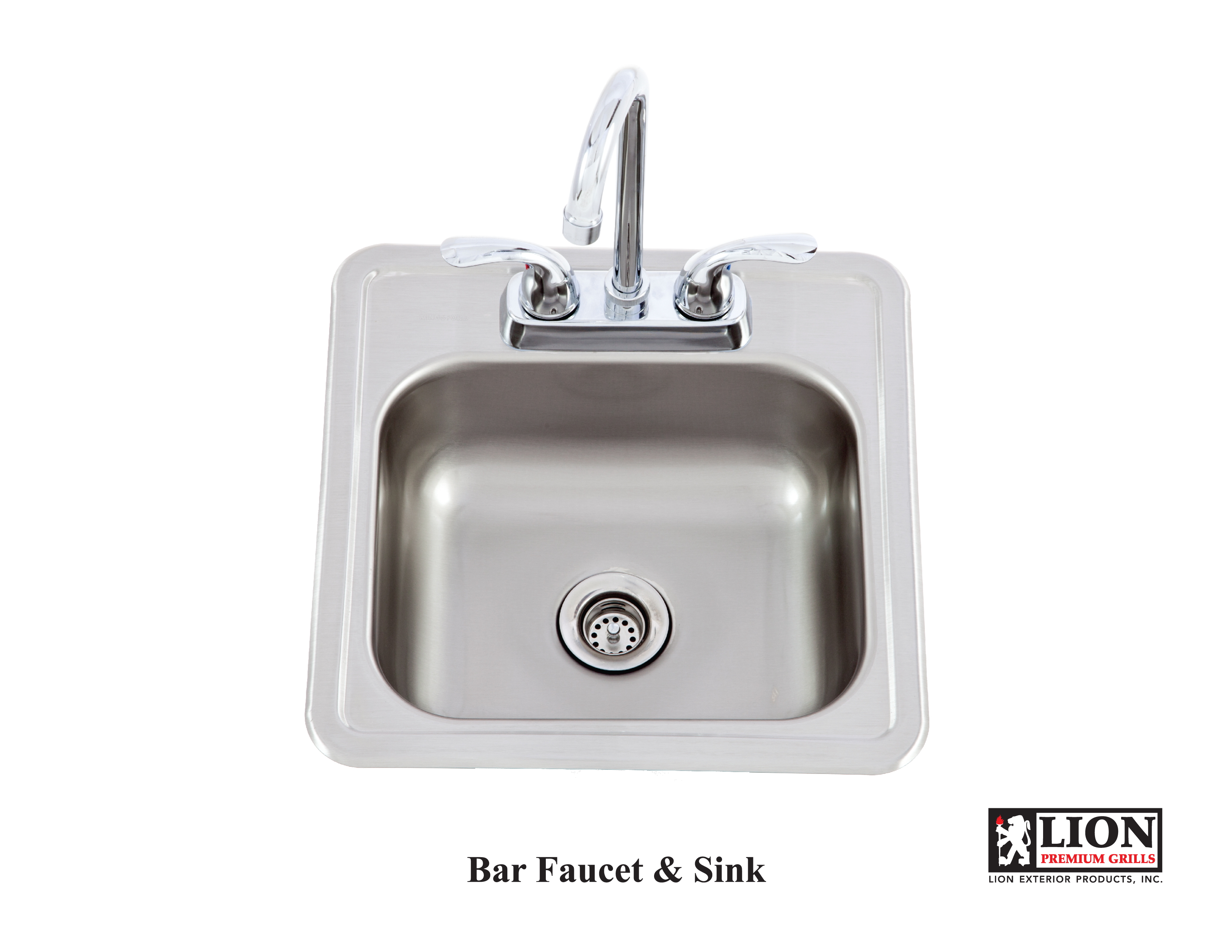 Lion Bar Faucet And Sink Outdoor Residential Bbq Appliances