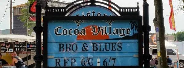 2014 Historic Cocoa Village's BBQ  Blues Lead