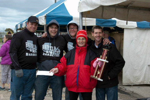 Hatfield and McCoy BBQ Team 3 500