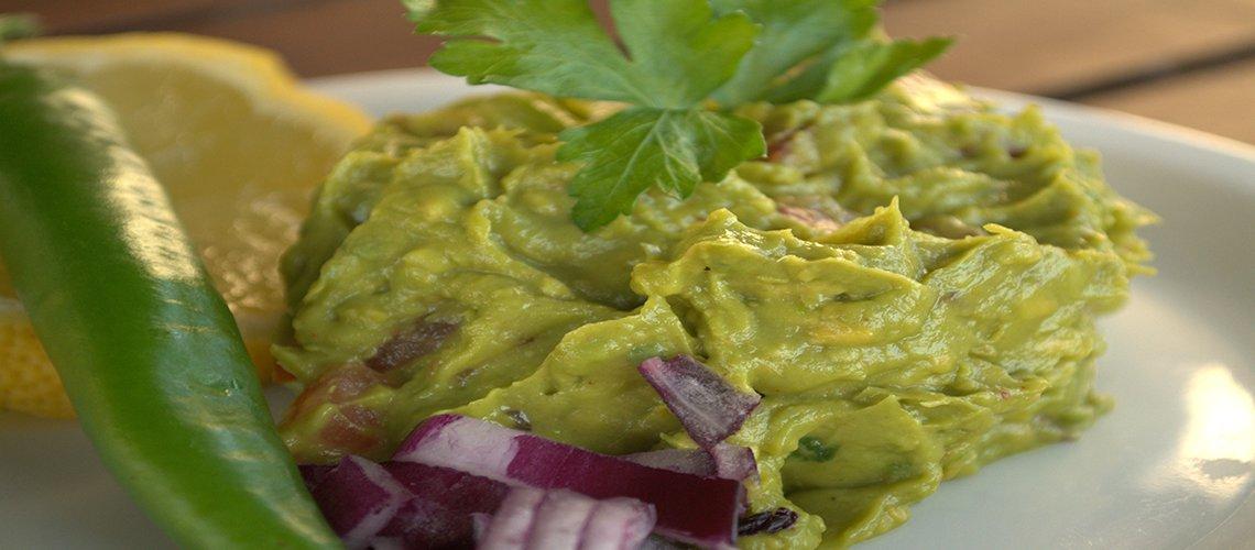 Rijke guacamole dip