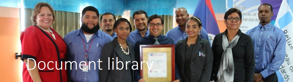 Document Library - Belize Bureau of Standards