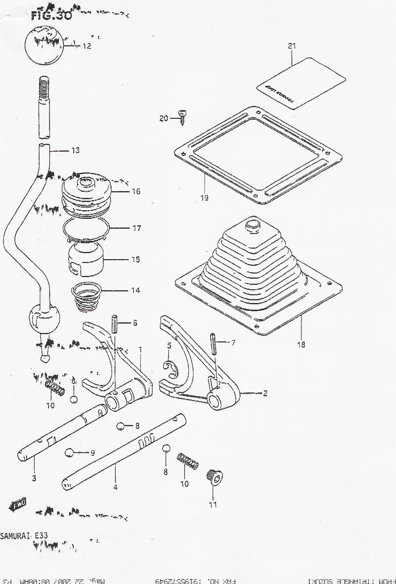 case parts diagram