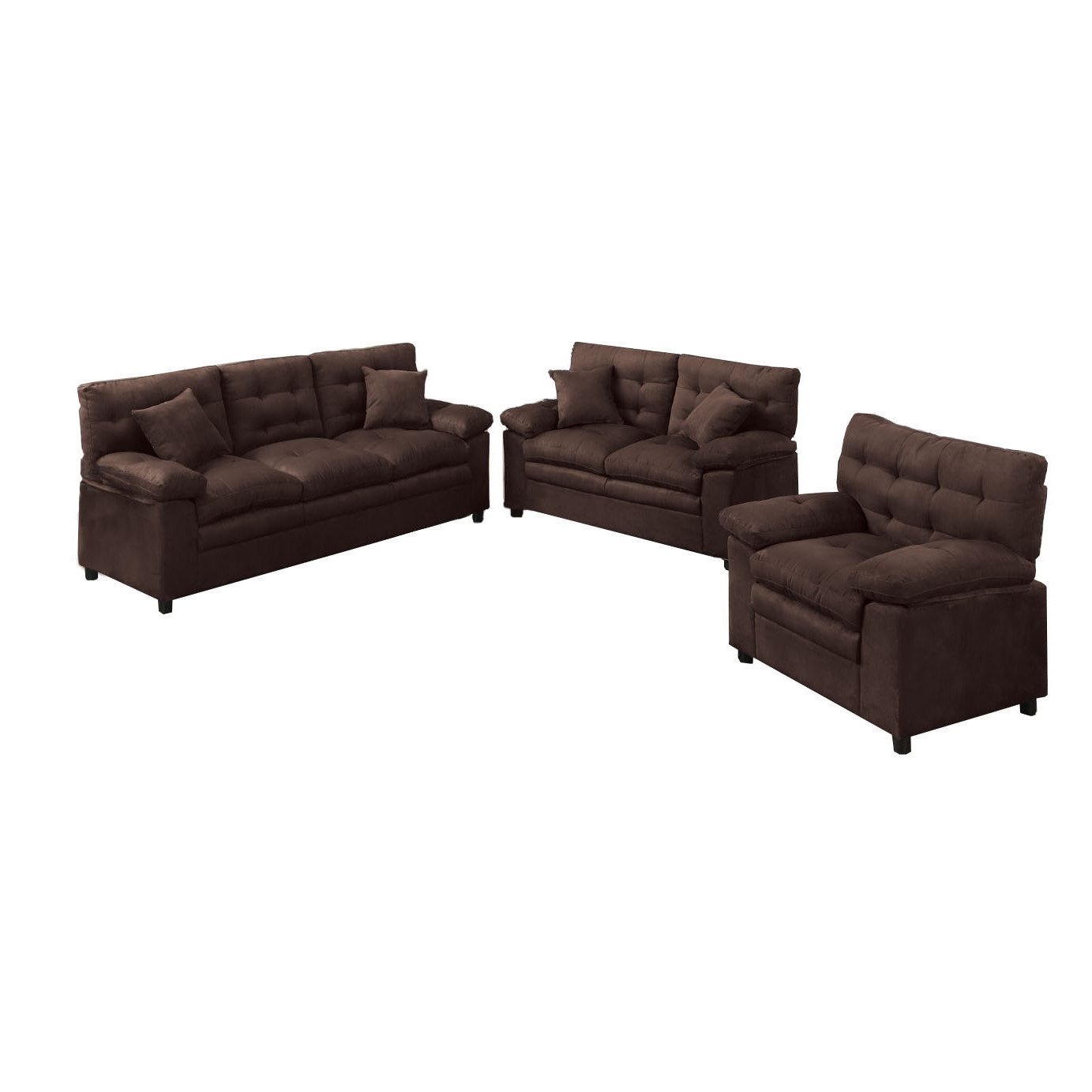 Sofa Set Price Rate 3pc Sofa Love Seat And Chair F7908 Bb 39s Furniture Store