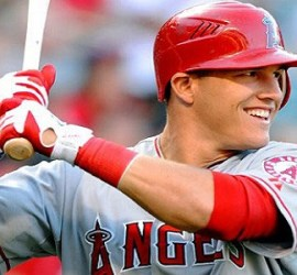 Mike Trout. Getty Images.