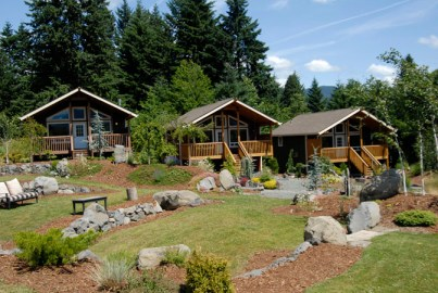 Luxury Cabins in the Columbia River Gorge Pristine and available