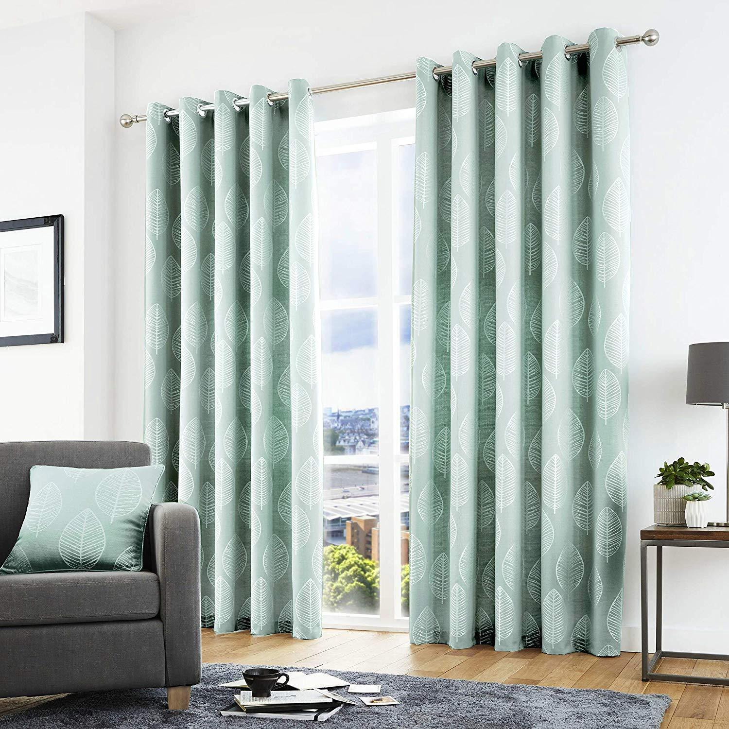 Scandinavian Ready Made Curtains Alan Symonds Curtains Catherine Lansfield Chenille Sundour
