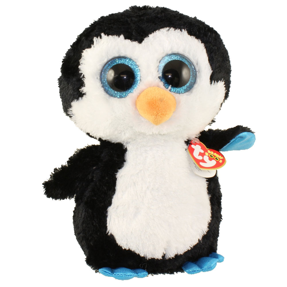 Ty Beanie Boos Waddles The Penguin Large Size 17 Inch Bbtoystore Com Toys Plush Trading Cards Action Figures Games Online Retail Store Shop Sale
