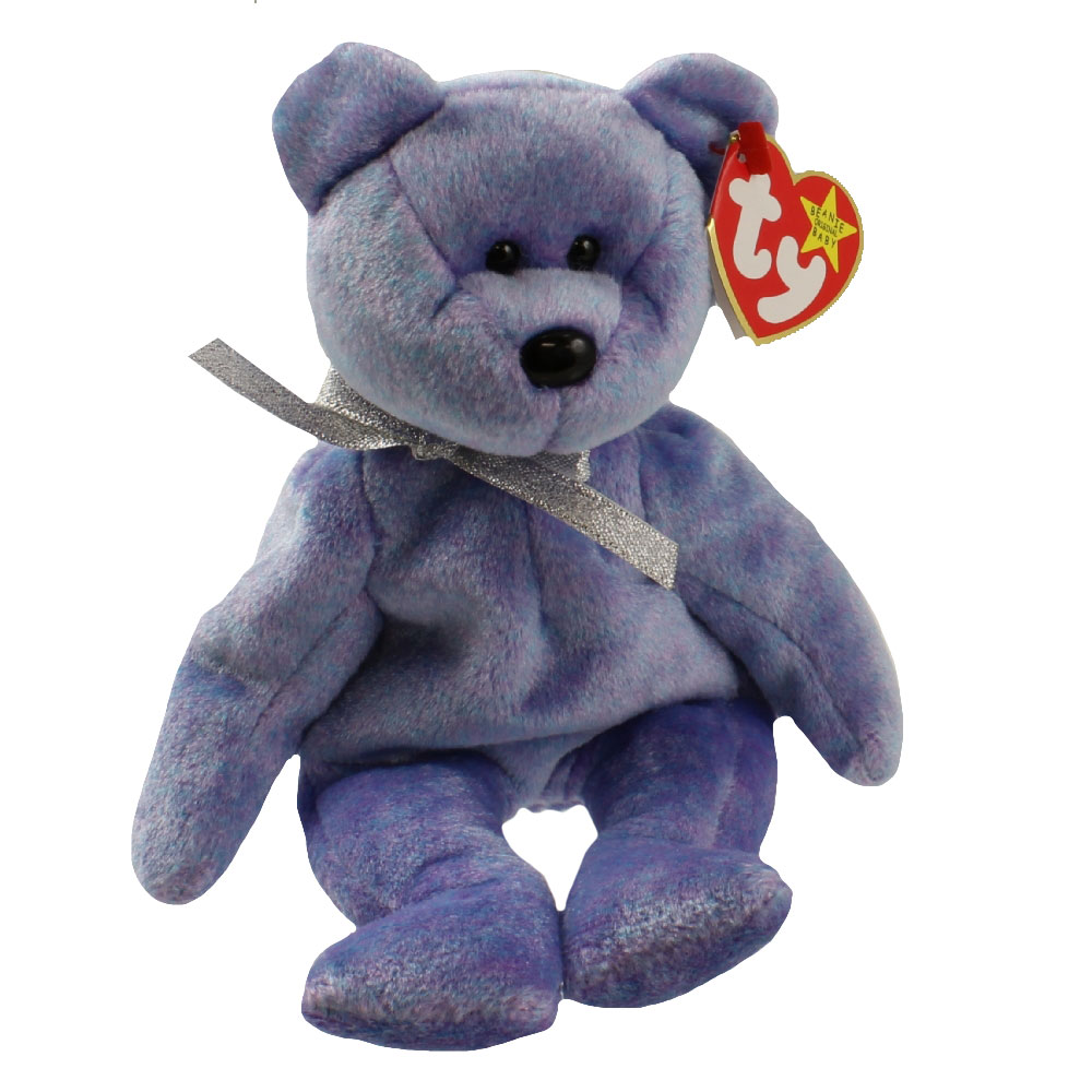 Baby Babies Game Ty Beanie Baby Clubby 2 The Platinum Bear 8 5 Inch