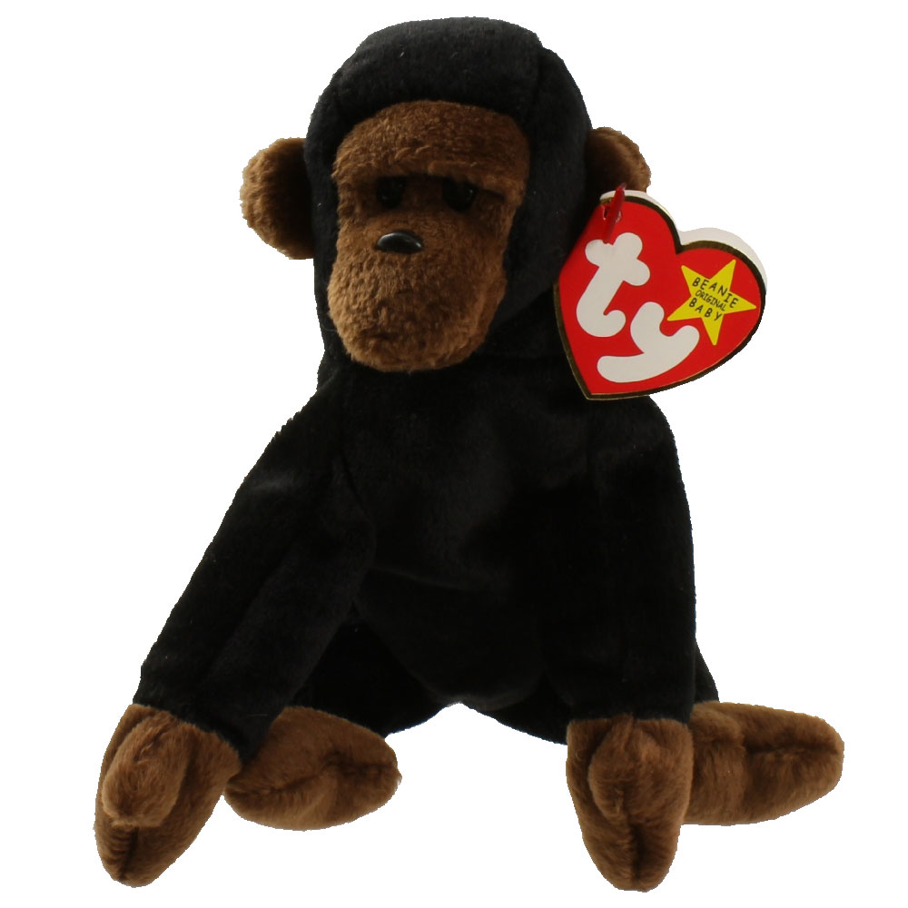 Baby Babies Game Ty Beanie Baby Congo The Gorilla 5 5 Inch Bbtoystore