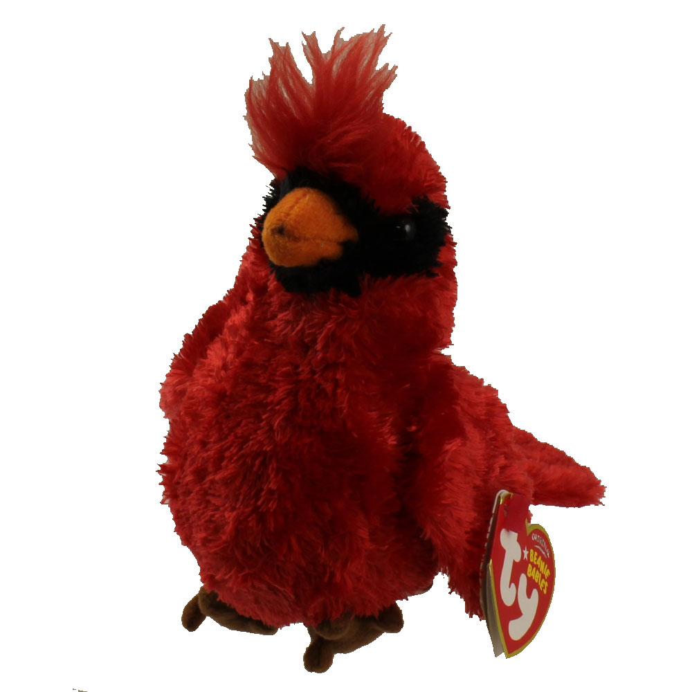 Baby Babies Game Ty Beanie Baby Crooner The Cardinal Bird 5 Inch