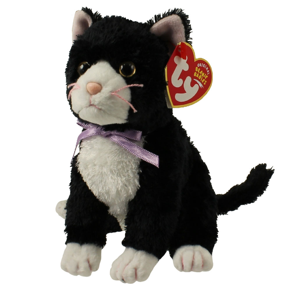 Baby Babies Game Ty Beanie Baby Fussy The Cat 5 5 Inch Bbtoystore
