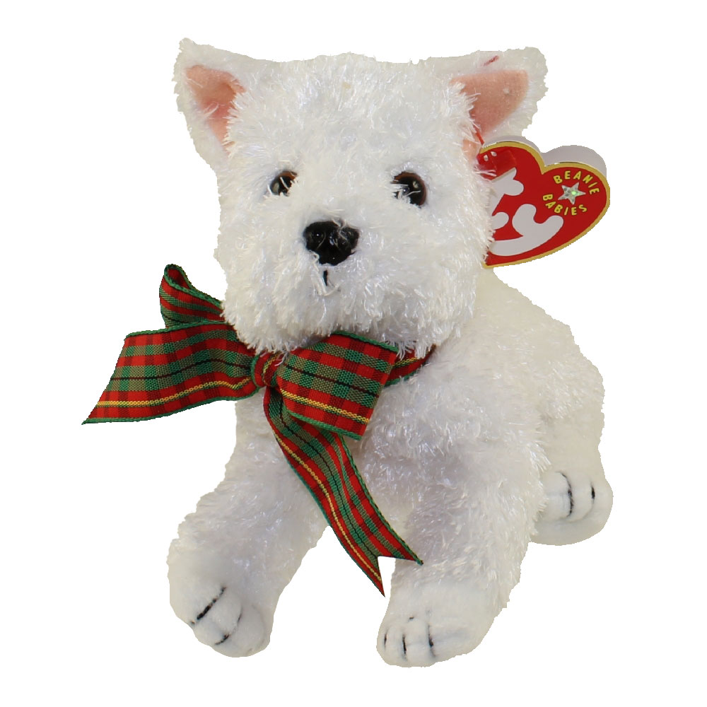 Baby Babies Game Ty Beanie Baby Kirby The White Dog 5 5 Inch