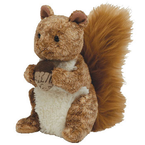 Baby Babies Game Ty Beanie Baby Treehouse The Squirrel 5 Inch