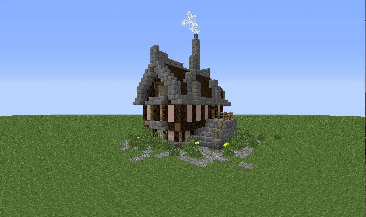 A Simple Elegant Minecraft House Tutorial