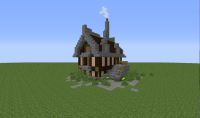 A Simple Elegant Minecraft House Tutorial - BC-GB