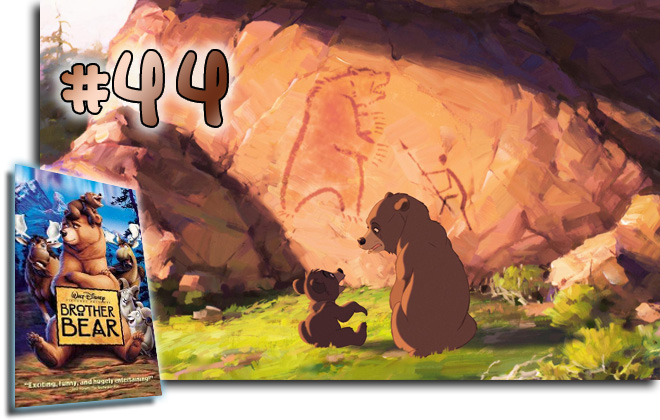 44 Brother Bear: BCDB List of Disney Animated Films