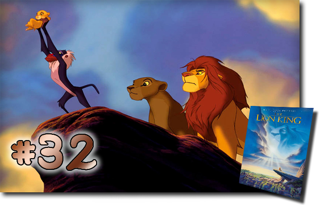 32 The Lion King: BCDB List of Disney Animated Films