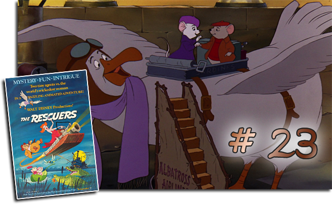 23 The Rescuers: BCDB List of Disney Animated Films