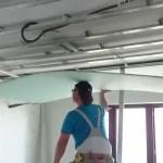 Крепим гипсокартон на потолок легко