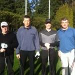 Left bob Leffler, Harry Lehwald, John Nicholson, Steve Errington