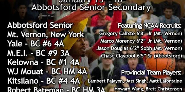 56th Annual Abbotsford Snowball Classic Hosts New York's Mt. Vernon