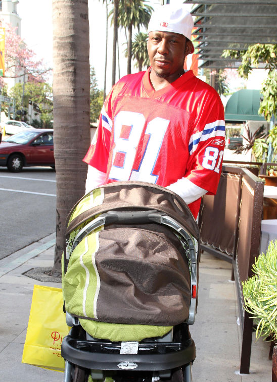 Baby Stroller In Usa Daddy Day Care With Singer Bobby Brown Sorry No Close Ups