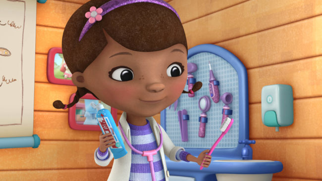 Gossip Girl Cartoon Wallpaper Doc Mcstuffins Returns To The Office For Fifth Season