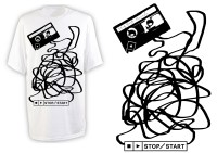 Stop Start T-Shirt Design | Benjamin Lee