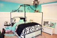 Turquoise Black And White Bedroom Ideas - Home Decorating ...