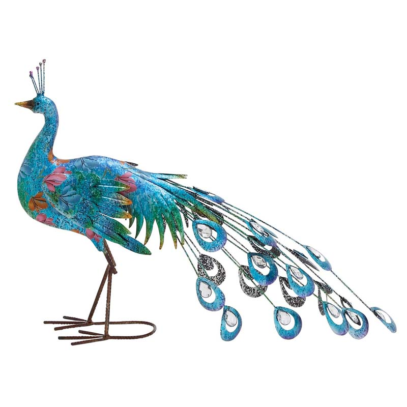 Peacock Themed Home Decor