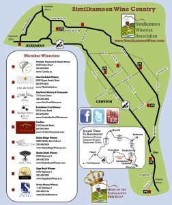 Similkameen Wine Map
