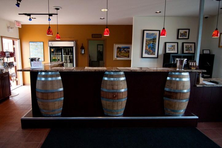 Mt Boucherie wine tasting