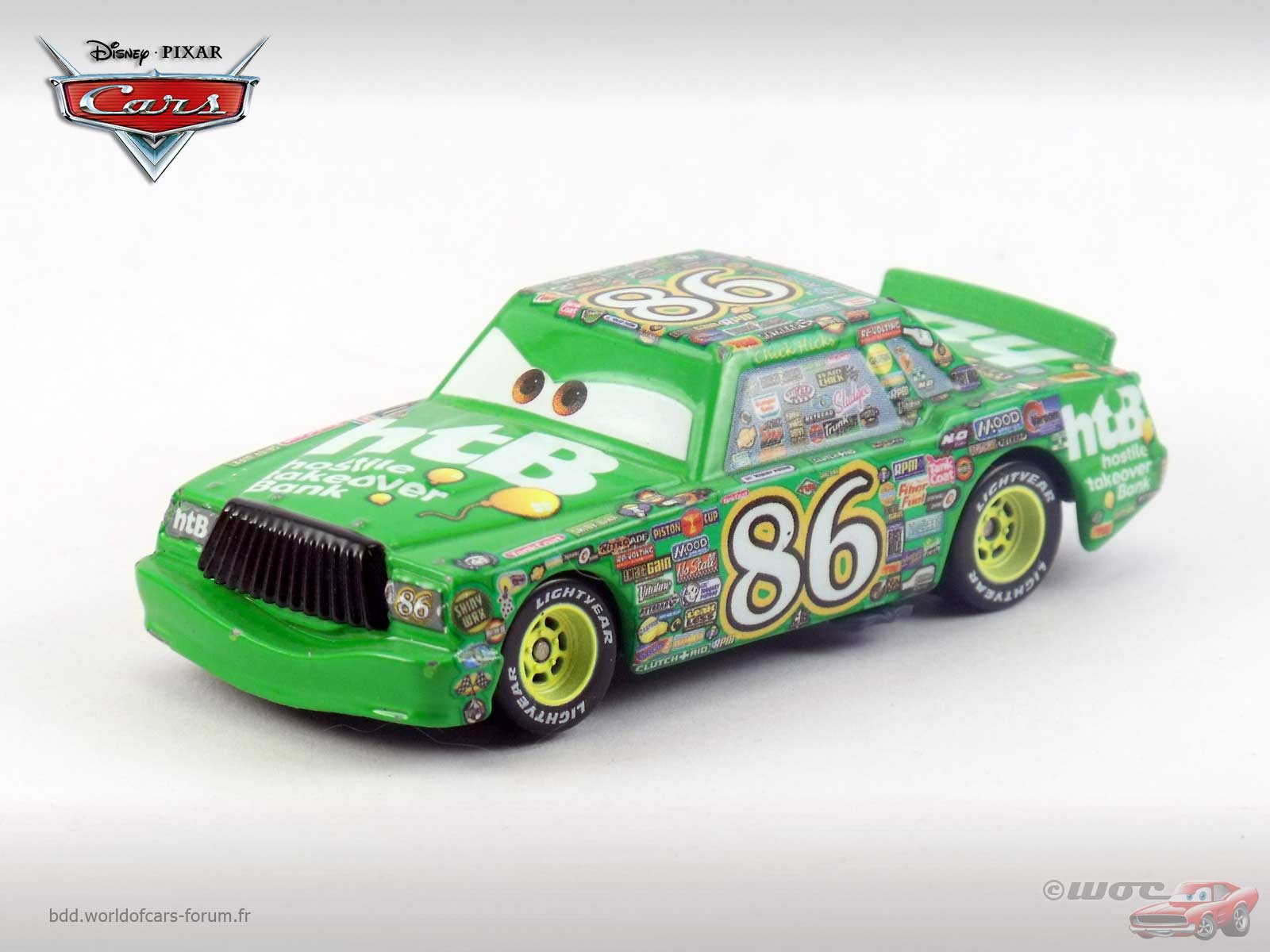 Cars Wallpaper With Names World Of Cars Pr 233 Sentation Du Personnage Chick Hicks