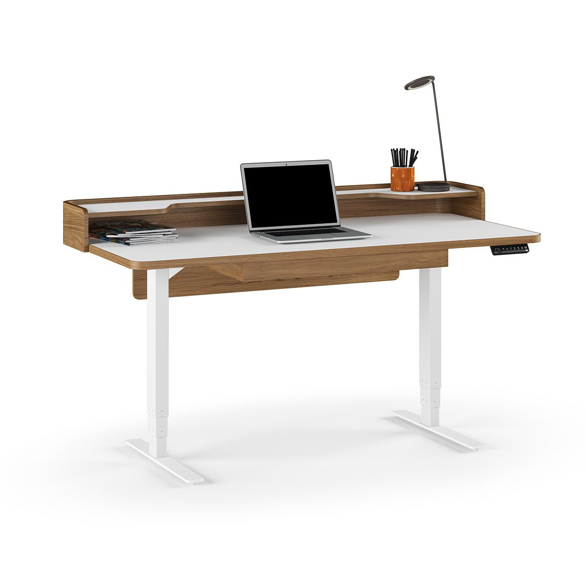 White Office Desk Kronos Office Bdi Standing Desk 2 1200x630