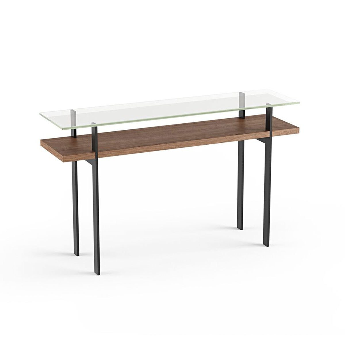 Glass Top Console Table Terrace Console Table 1153 Bdi Furniture