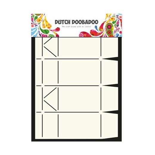 Dutch Doobadoo Box Art Template - Milk Carton 713013 Buddly Crafts - Milk Carton Template