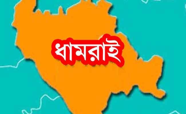 dhamrai-map