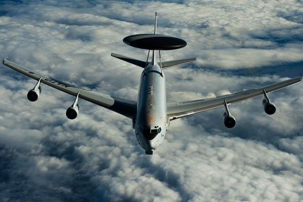 NATO Deploying  E-3 AWACS in middle east - October 2016
