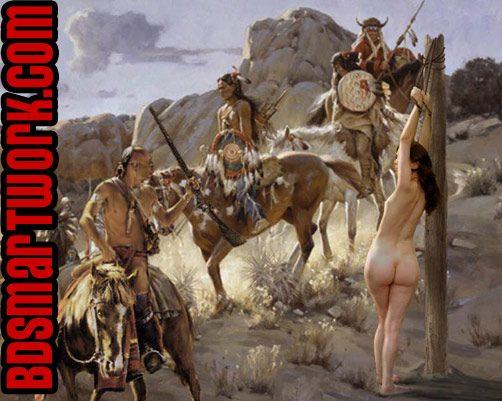 wild west indian torture