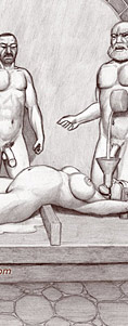 extreme bdsm drawings