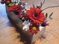 centre de table , atelier Art floral par M@Isons Cocoon