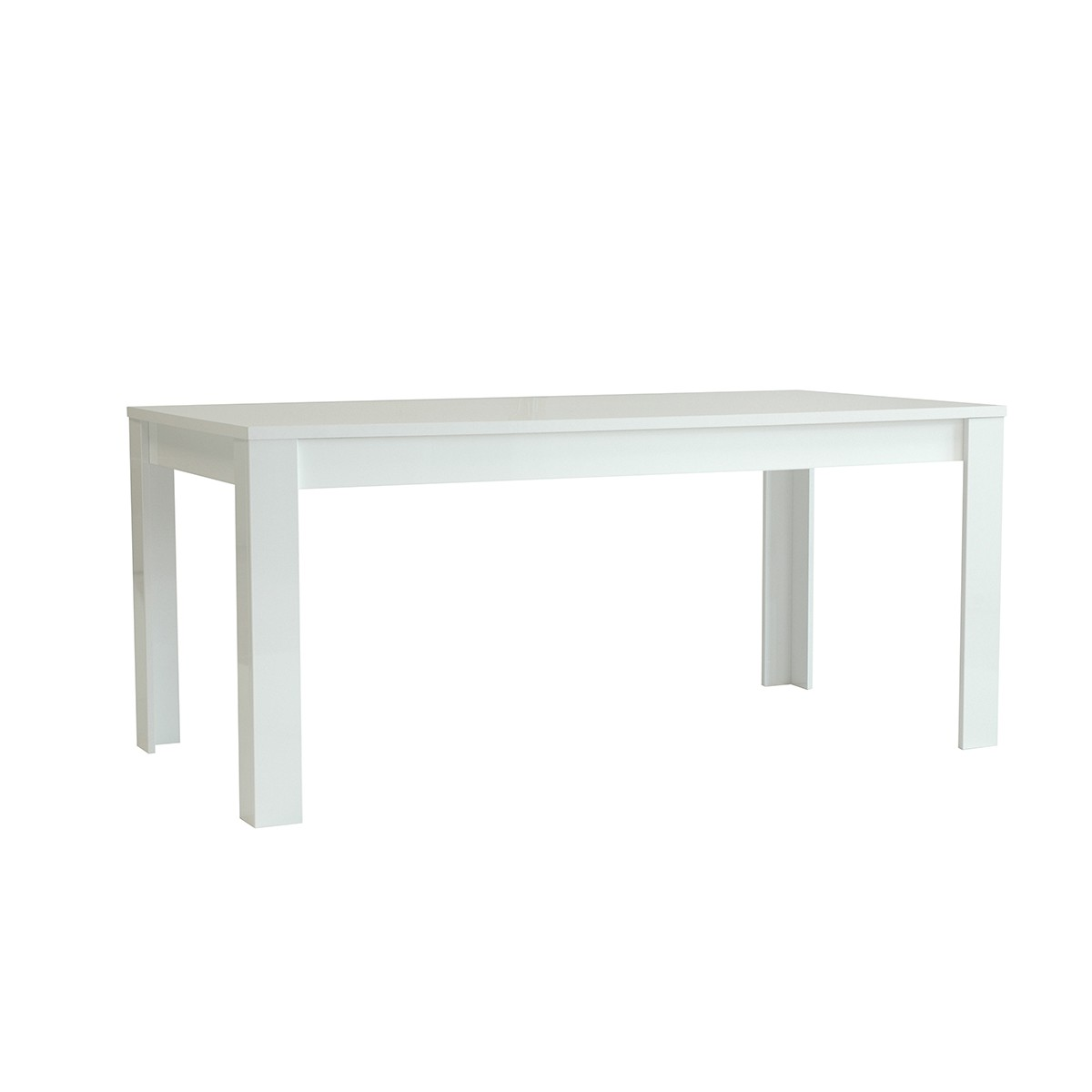 Table Rectangulaire Blanche Table Laquee Blanche Rectangulaire 180 Cm Mooviin
