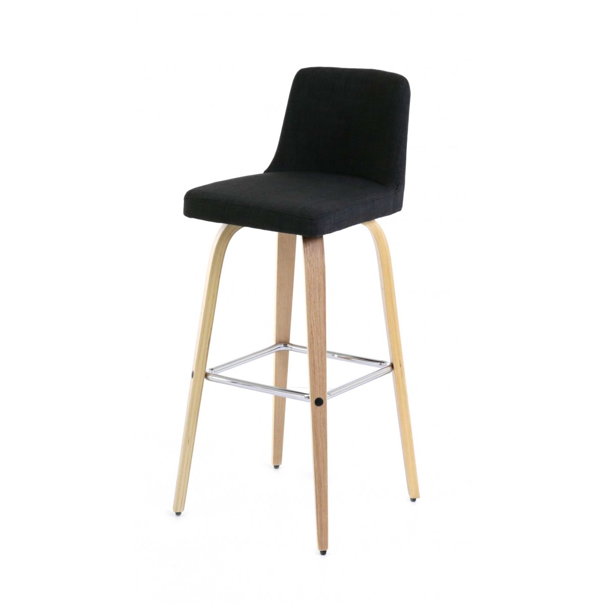 Songmics Lot De 2 Tabourets De Bar Stool Tabouret De Bar En Tissus Table De Lit